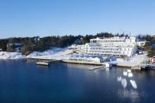 Svenska handbollslandslaget laddar på Stenungsbaden Yacht Club under VM