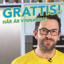 Två nya vinnare - sista veckan av HärjedalsKöks lyckade kampanj