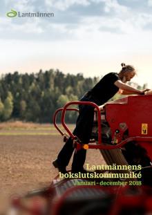 Lantmännens bokslutskommuniké Januari - december 2018