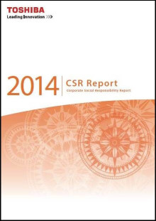 Toshiba Publishes English Edition of CSR Report 2014