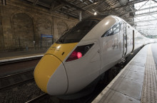 New intercity train carries out first Edinburgh test journey