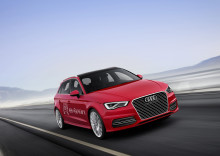 Geneve Motor Show 2013 Premiär för Audi A3 e-tron i Geneve