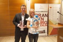 1. Innovationspreis der Stiftung Bibliotheks-Forschung für Projekt der Wildauer Stadtbibliothek mit der Technischen Hochschule Wildau