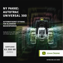 JOHN DEERE - Autotrac Universal 300