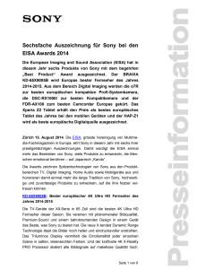 Medienmitteilung_EISA Awards 2014_D-CH_140815