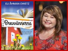 Författaren Eli Åhman Owetz kommer ut med nya kärleksromanen Brevvännerna