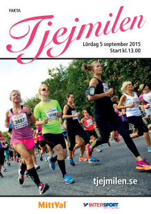 Pressinformation Tjejmilen 2015