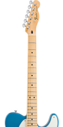 FENDER® UPGRADES STANDARD SERIES ELECTRIC GUITARS AND BASSES
