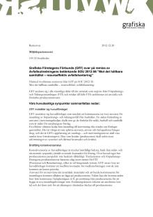 Remissvar till Miljödepartementet angående Avfallsutredningens förslag