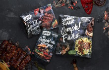 Oumph! plant-based ribs, mince and burger launching in Sweden