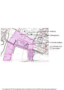 Karta över markprovtagning för familjebad