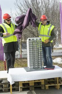 Östersundshem är igång med bygget av nytt landmärke