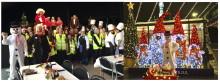 GATANS JULFEST. Tillvarataget matsvinn gav Stockholmarna årets största julfest - 850 gäster på #EnJulFörAlla, Kulturhuset Studion