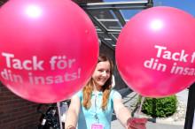 Upplands Väsby första kommunen med tack-kampanj