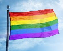 ISS hissar flaggan för jämlikhet och mångfald