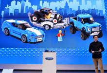 LEGO henvender seg til barn i alle aldre med to Ford-ikoner