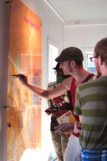 Mobila museet öppnar på Rymdtorget