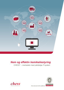 CHESS (Chemical, Health, Environmental, Safety System) - Software til kemikaliestyring