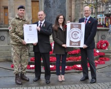 Ministry of Defence employer award for Moray Council
