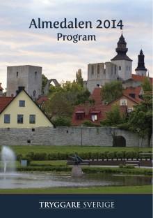 Program Almedalsveckan 2014 - seminarier, fotboll och mingel