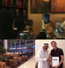 Wayne's Coffee förlänger samarbetet i Saudiarabien