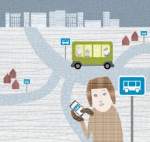 Rullande busskurer i Skellefteå ger ökad trygghet