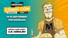 Chefsredaktören för Marvel Comics till Comic Con Stockholm