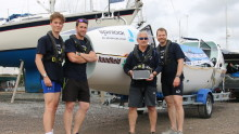 Rowing team to use ALGIZ 10X for 3,000-mile Atlantic Ocean race