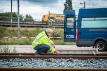DEKRA fraktar järnvägsräls från Holland till Nordic Rail i Jönköping