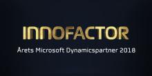 Innofactor Sverige blev Årets Microsoft Dynamicspartner 2018