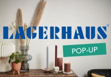 Lagerhaus öppnar sin första Pop-up butik!