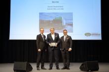 Scania erhält Europäischen Transportpreis für Nachhaltigkeit 2020 in der Kategorie Gas-Lkw