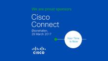 Möt oss på Cisco Connect i Köpenhamn!