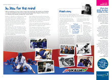 Mental Health Benefits of BJJ highlighted by Anxiety UK