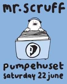 Den legendariske DJ og producer, Mr. Scruff, tænder op for Pumpehuset til sommer