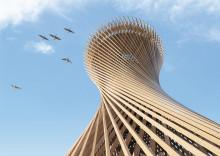 White vinner arkitekttävling om utsiktstorn i trä i Varberg