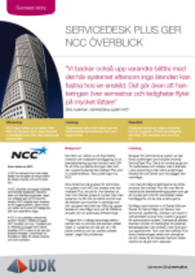 Success story: ServiceDesk Plus ger NCC överblick och snabbare handläggning
