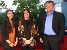 Elever på Carlforsska gymnasiet hemkomna från volontärarbete i Indien