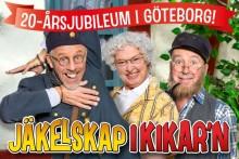 """Hyllade """"JÄKELSKAP I KIKAR'N"""" på väg till Lisebergsteatern våren 2017"""