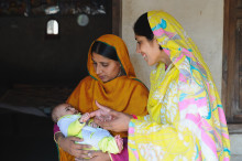 In Pakistan, health workers are crucial in delivering life-saving support to newborns and mothers