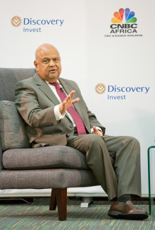 Finance Minister Pravin Gordhan: Focusing on growth and moving away from an individualistic culture