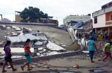 Plan International redo för insats efter jordbävning i Ecuador