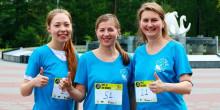 Ryska Scientologer springer för att främja en livsstil utan droger