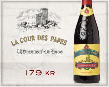 Härligt höga betyg till La Cour des Papes från Grandes Serres!