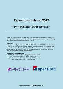 Dansk erhvervsliv - Regnskabsanalysen 2017 - september - samlet
