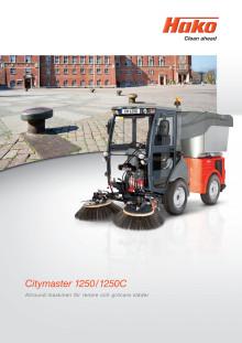 Broschyr Hako Citymaster 1250/1250C
