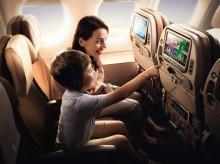 Singapore Airlines bästa tips för att resa med barn