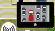 """Nový systém ve fázi prototypu rychle upozorní řidiče na nehodu a pomůže vytvořit """"uličku"""" pro záchranáře"""