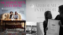 Tidningen Form delade ut priser till årets bästa projekt på möbelmässan – ungdomstidskriften Skärholmen interiör bland vinnarna