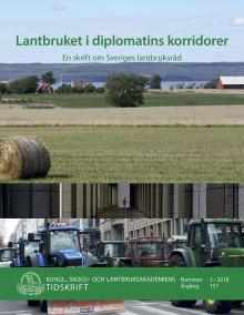 Ny skrift: Lantbruket i diplomatins korridorer (KSLAT 3-2018)